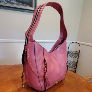 Like new OrYany pink leather hobo